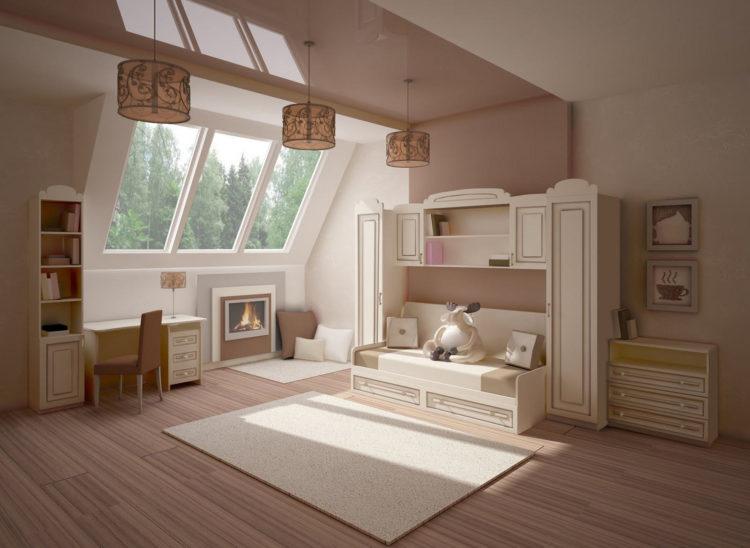 200 идей дизайна интерьера с обоями для детской комнаты с фото �� - Ремонт своими руками