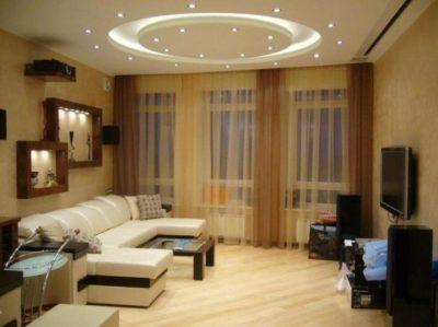 200 идей дизайна интерьера с потолками из гипсокартона с фото 🖼