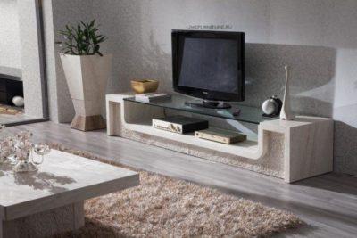 200 идей дизайна интерьера с тумбой под телевизор в современном стиле с фото 🖼