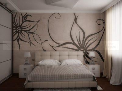 200 идей дизайна интерьера комнат с жидкими обоями с фото 🖼