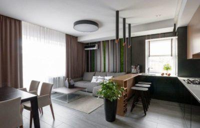 200 идей дизайна интерьера с объединением кухни и гостиной с фото