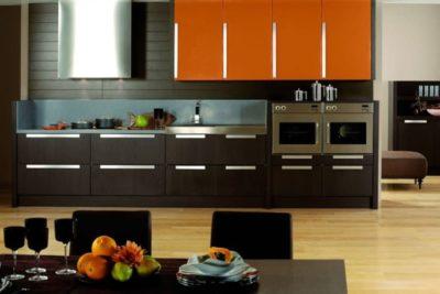 200 идей дизайна интерьера с кухнями цвета венге и ванили с фото 🖼