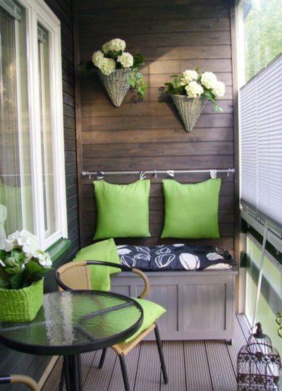 200 идей интересного дизайна отделки балкона с фото 🖼