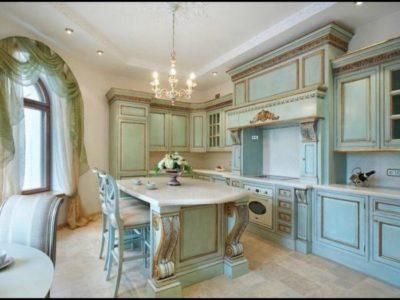 200 идей дизайна интерьера с кухней в стиле барокко с фото 🖼