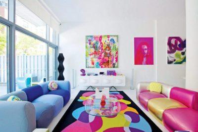200 идей дизайна интерьера в стиле Поп-арт с фото 🖼