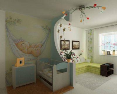 200 идей дизайна интерьера с обоями для детской комнаты с фото 🖼