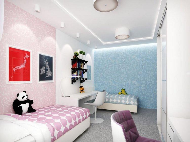 Комната для мальчика и девочки: планировка, дизайн