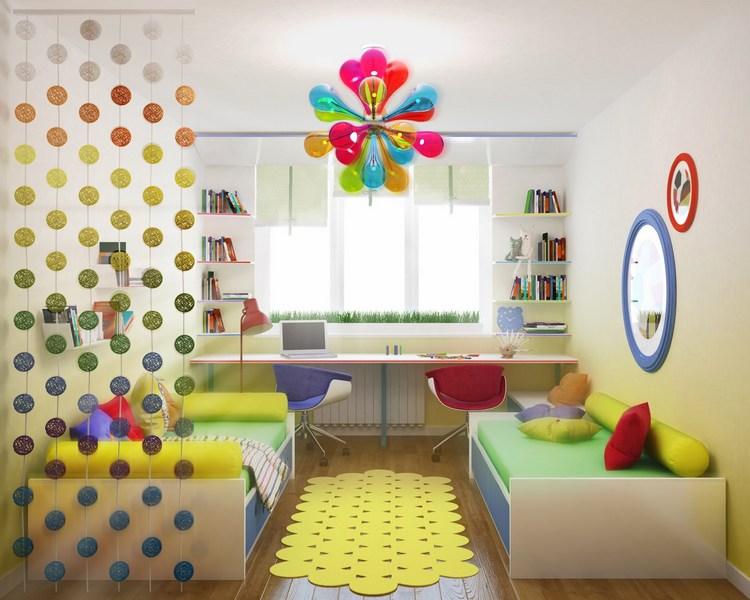 Отделка детской комнаты для девочки и мальчика