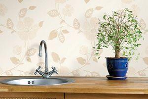 Какие обои для кухни можно протирать влажной тряпкой и мыть