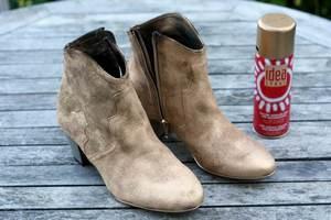 Как почистить замшевые ботинки в домашних условиях: правила и советы