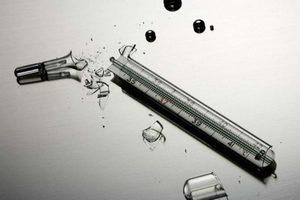 Как правильно утилизировать разбитый ртутный градусник