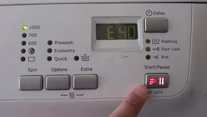 Распространённые коды ошибок стиральных машин Samsung