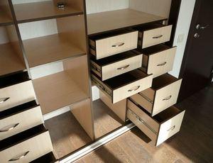Как сделать шкаф с выдвижными ящиками своими руками