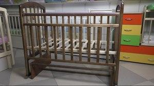 Инструкция, как собрать детскую деревянную кроватку