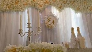 Простые и креативные варианты оформления зала для свадьбы