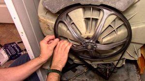 Как заменить и натянуть ремень в стиральной машине