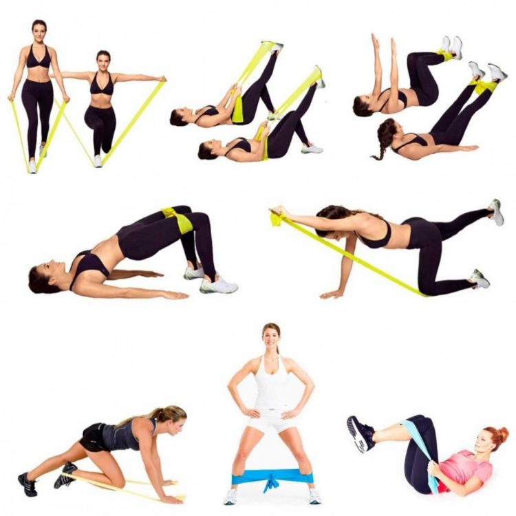 Фитнес резинка – домашний тренажер, который работает