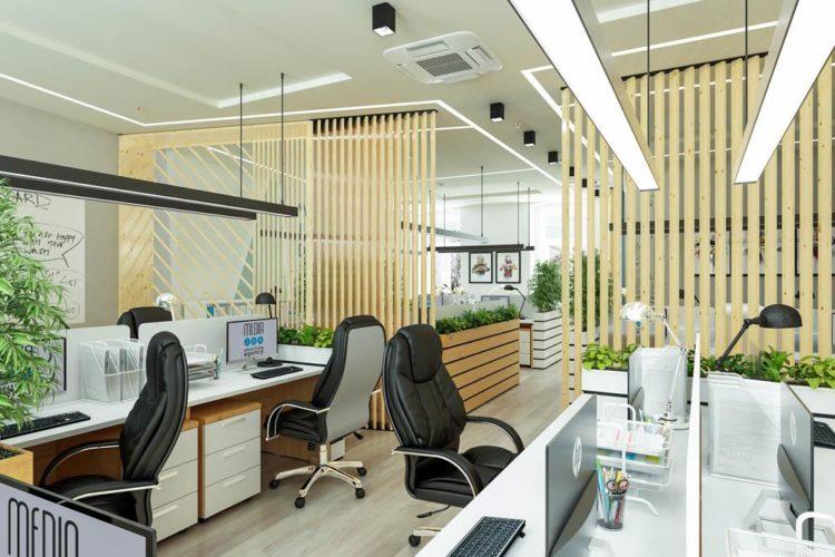 Для каждого офиса свой дизайн