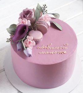 Сливочно - вишневый торт