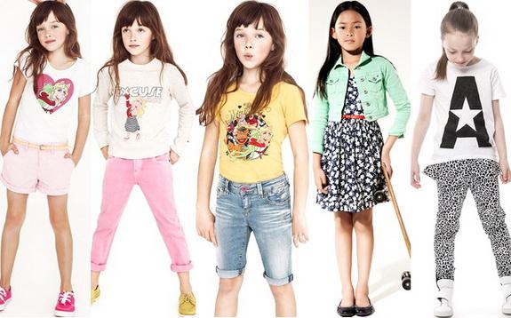 Модная одежда для детей способствует развитию стиля ребенка