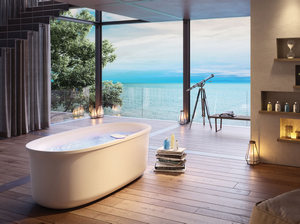 О выборе ванны в частный дом